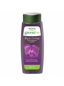 SHOWER GEL AROMA GREENLINE FINE FRAGRANCES BLACK ORCHID - 400 ML