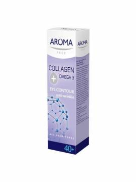 AROMA COLLAGEN+OMEGA 3 EYE CONTOUR CREAM - 15 ML