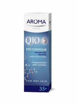 AROMA Q10+ EYE CONTOUR CREAM - 15 ML