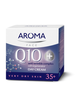 Aroma Q10+ Day Cream for very dry skin - 40 ml