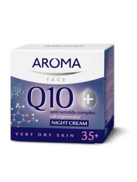 Aroma Q10+ Night cream for very dry skin - 40 ml