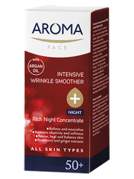 AROMA INTENSIVE WRINKLE SMOOTHER RICH NIGHT CONCENTRATE - 30 ML