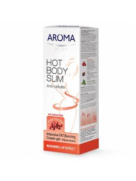 INTENSIVE FAT BURNING CREAM-GEL AROMA HOT BODY SLIM - 200 ML