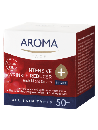 AROMA INTENSIVE WRINKLE REDUCER NIGHT CREAM - 50 ML