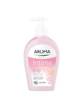 AROMA INTIMATE CREAM-WASH ALOE VERA - 250 ML