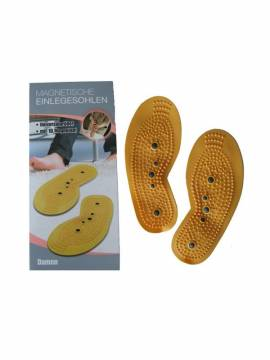 Stolz Women Magnetic Foot Insoles for Acupressure and Therapy Massage