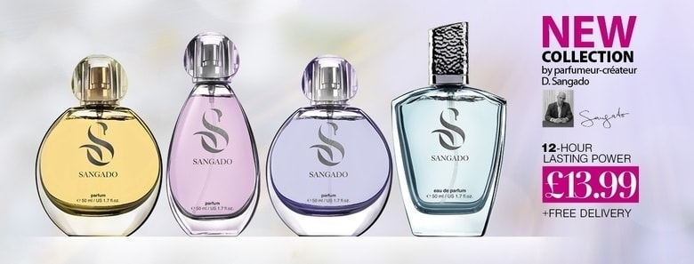 New Collection SANGADO Perfumes
